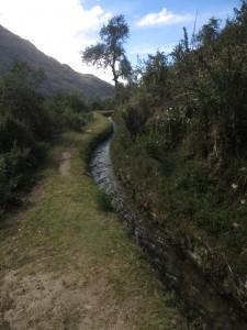 Incan aqueduct